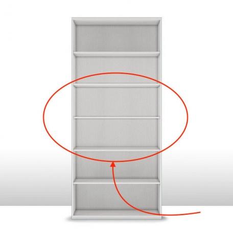 Комплект полок к шкафу 2-х дверному (3 шт.) Капри