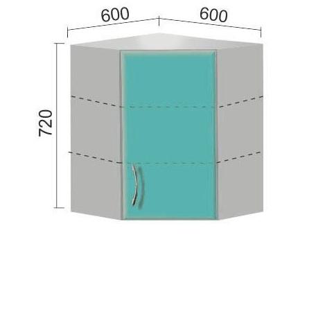 Шкаф Е-2853 угловой