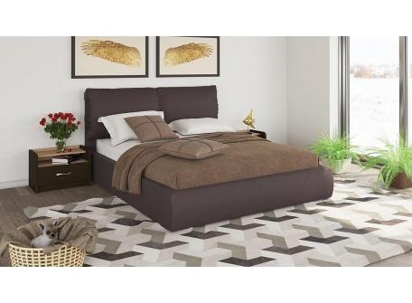 Кровать Камилла тёмно-коричневая