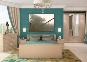 Спальня Юлианна венге композиция-1
