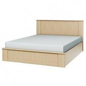 Кровать 1600 Юлианна венге светлый