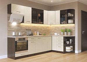 Кухня Арина бежевая