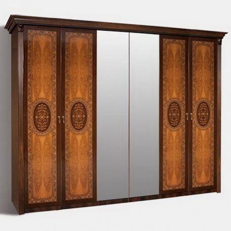 Шкаф 6-ти дверный Карина-2