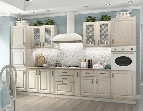 Кухня Ника ясень композиция-1