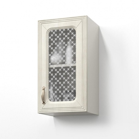 Шкаф-витрина П-40В Ника ясень
