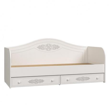 Кровать-диван 800 Ассоль белая