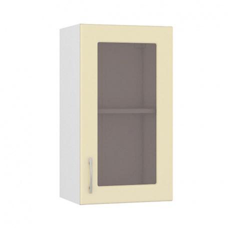Шкаф-витрина 400 Сандра ваниль