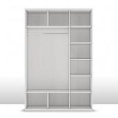 Шкаф 3-х дверный (корпус) Капри