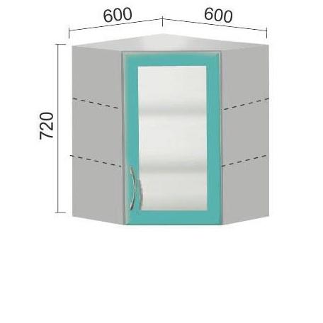 Шкаф Е-2854 угловой
