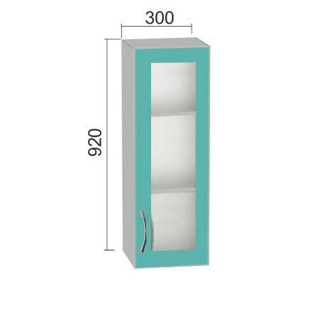 Шкаф Е-2804 витрина