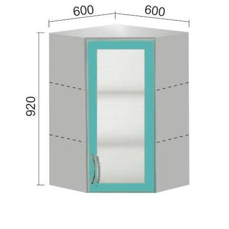 Шкаф Е-2816 угловой