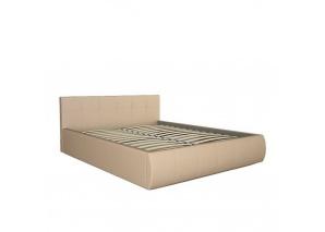 Кровать Афина бежевая с основанием
