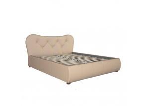 Кровать Лавита бежевая с основанием