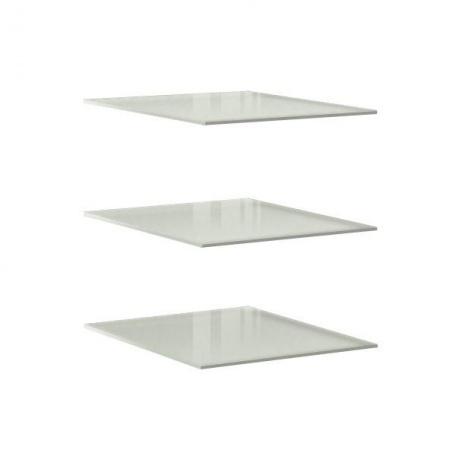 Комплект стеклянных полок