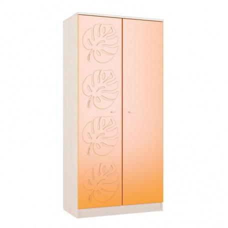 Шкаф двухстворчатый Маугли оранж