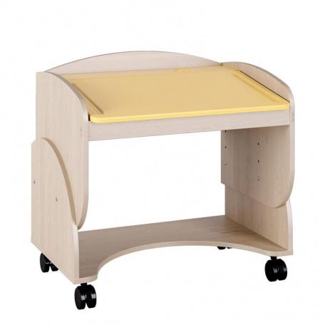 Стол детский Маугли жёлтый