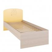 Кровать 204см Маугли жёлтый