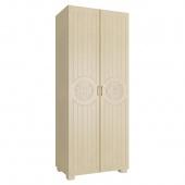 Шкаф двухдверный Монблан венге светлый