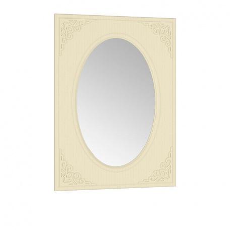 Зеркало овальное Ассоль ваниль