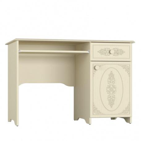 Стол с ящиком и дверью Ассоль ваниль