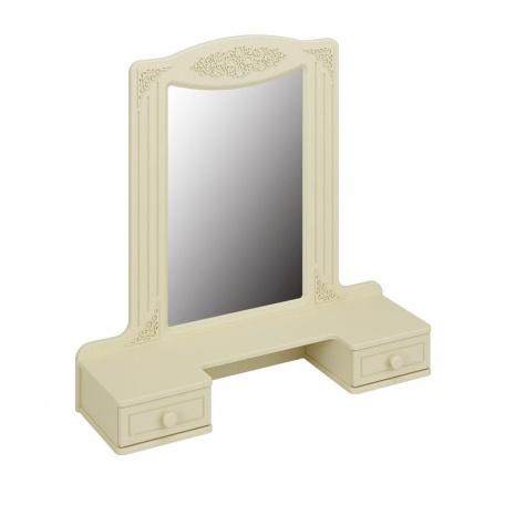 Зеркало с ящиками Ассоль ваниль