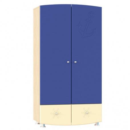 Шкаф для одежды Капитошка синий