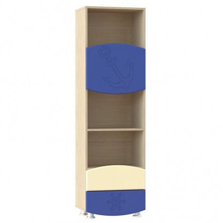 Шкаф с ящиками Капитошка синий