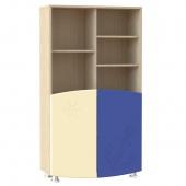 Шкаф широкий Капитошка синий