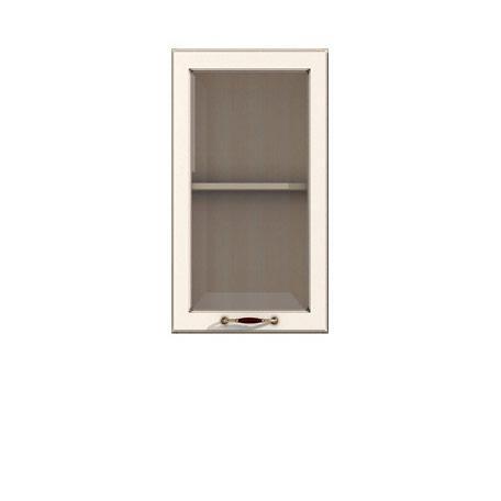 Полка-витрина 450/720 Барбара люкс слоновая кость