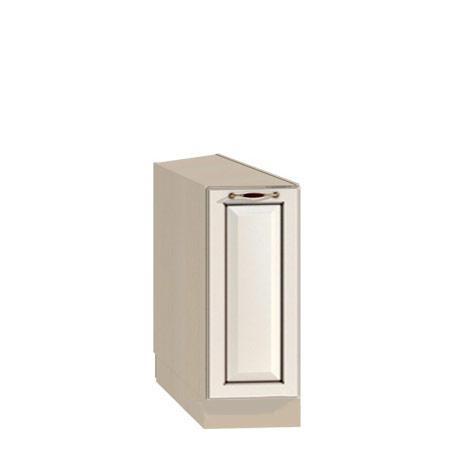 Стол торцевой 300 Барбара люкс слоновая кость с фасадом (лев/прав)