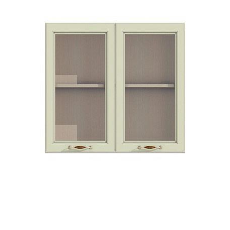Полка-витрина 900/720 Барбара люкс салатовая