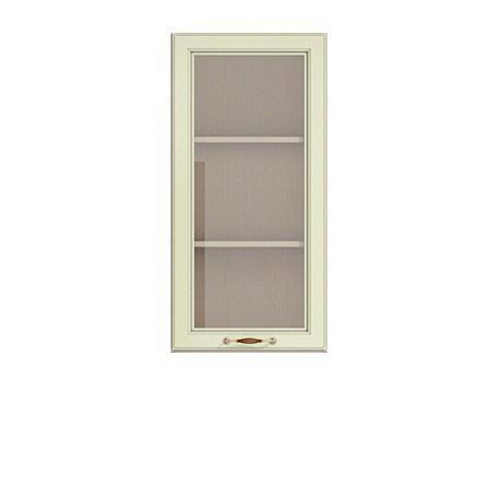 Полка-витрина 450 Барбара люкс салатовая