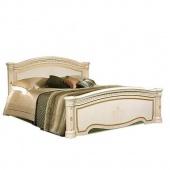 Кровать Карина-3 беж с одной спинкой и подъемным основанием