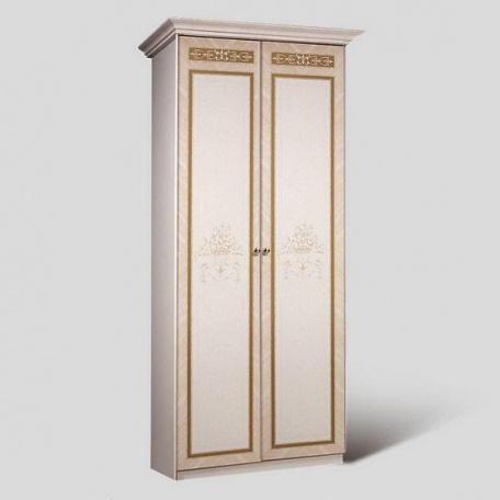 Шкаф 2-х ств. для платья Карина-3 бежевая