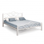 Двуспальная кровать Милая белая