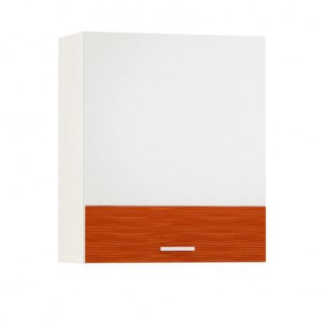 Шкаф навесной 600 Жанна оранжевая (1 дверь)