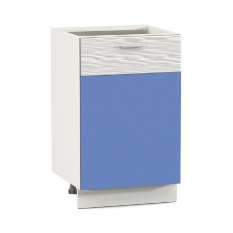 Стол 500 Жанна голубая