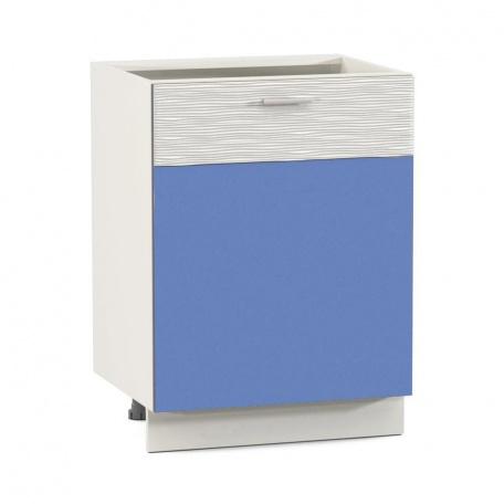 Стол 600 Жанна голубая (1дверь)