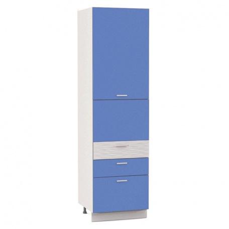 Пенал 2160 Жанна голубая (2 двери