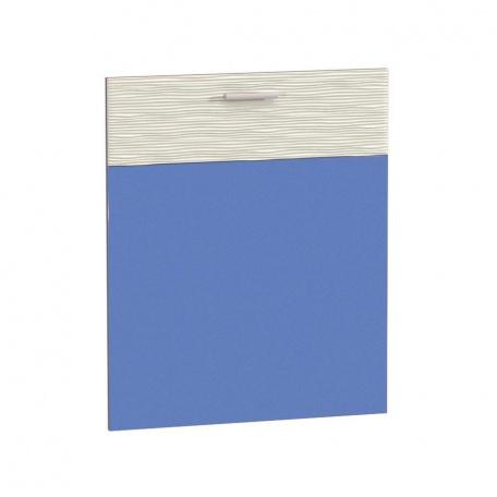 Фасад 600 Жанна голубая для ПММ 60см