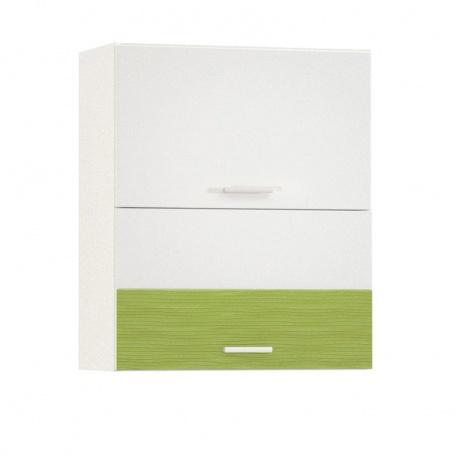Шкаф горизонтальный 600 Жанна олива (2 двери)