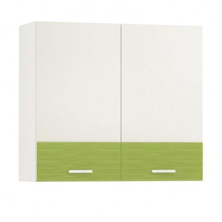 Шкаф навесной Жанна олива 800 (2 двери)