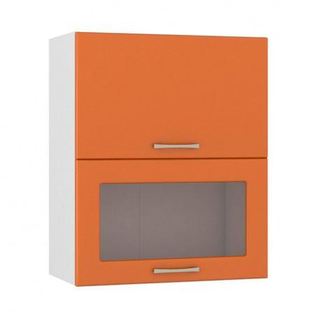 Шкаф горизонтальный 600 Сандра манго (1 гл.дверь