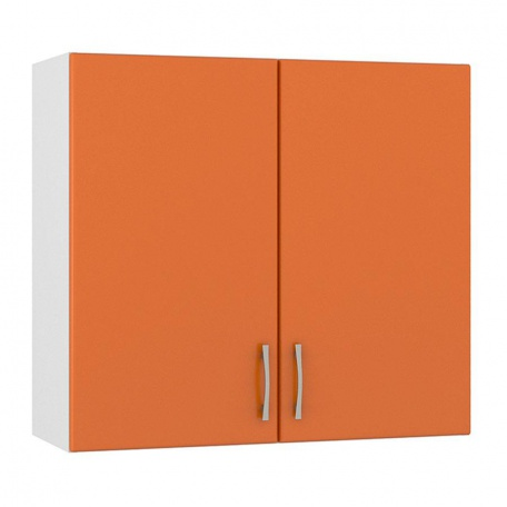 Шкаф навесной Сандра манго 800 (2 двери)