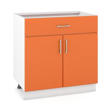 Стол 800 Сандра манго 2 двери + 2 ящика