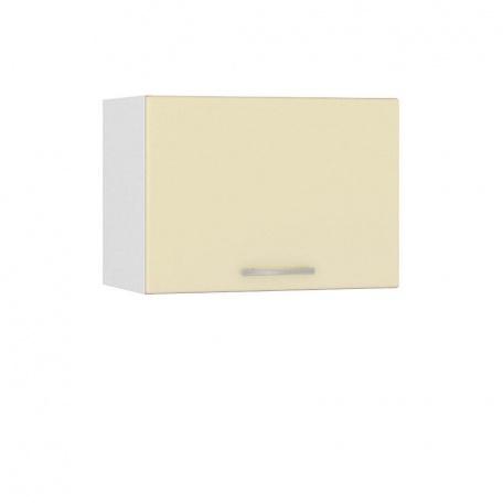 Шкаф горизонтальный 500 Сандра ваниль (1 дверь)