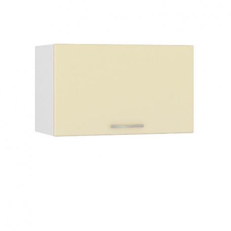 Шкаф горизонтальный 600 Сандра ваниль (1 дверь)