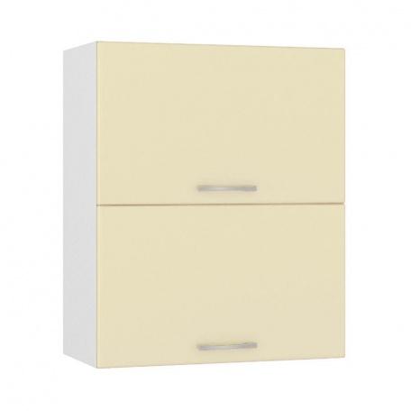 Шкаф горизонтальный 600 Сандра ваниль (2 двери)