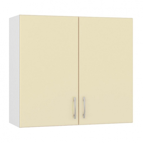 Шкаф навесной Сандра ваниль 800 (2 двери)