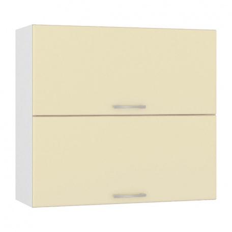 Шкаф горизонтальный 800 Сандра ваниль (2 двери)
